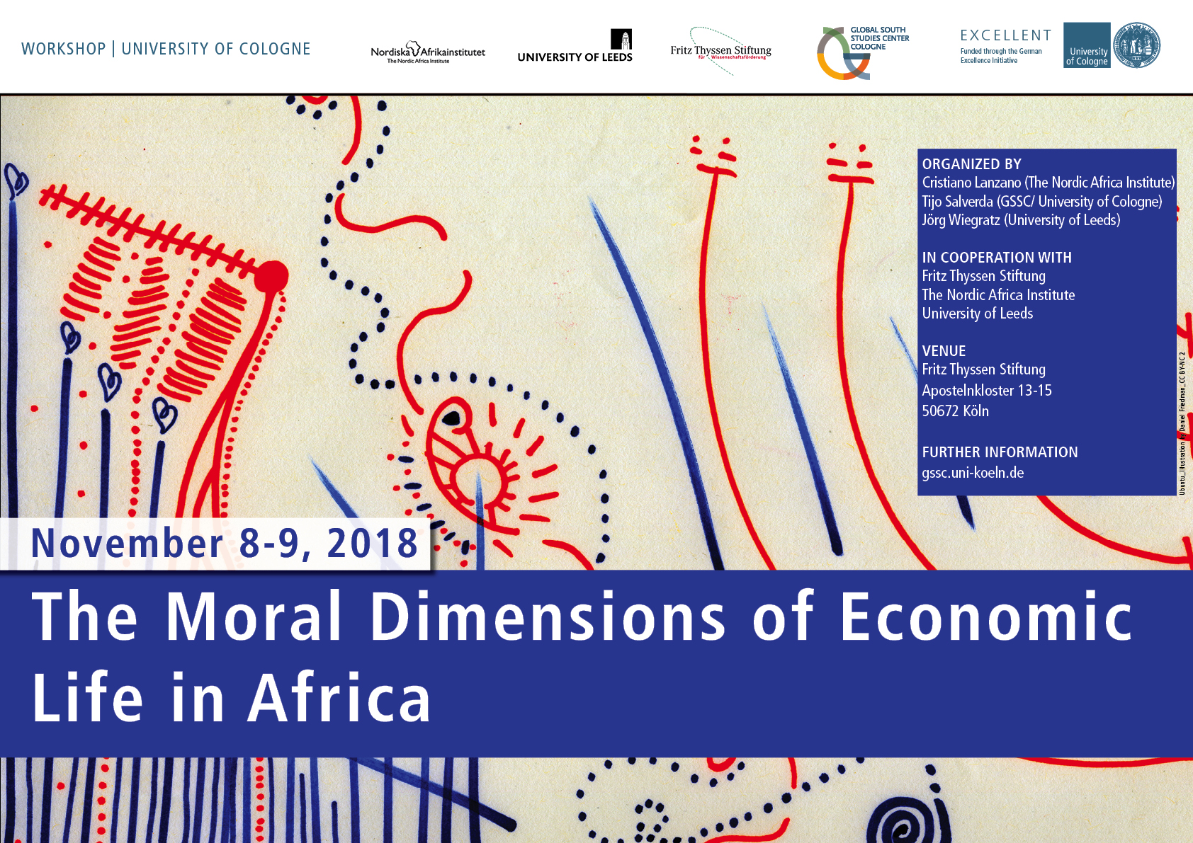 Workshop: The Moral Dimensions of Economic Life in Africa.